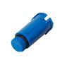 Тестовая заглушка 1/2 наружная, цвет синий ABA SYSTEM 1103740006