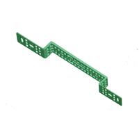 Установочная планка двойная с ушами, пластик ABA SYSTEM 1103740012